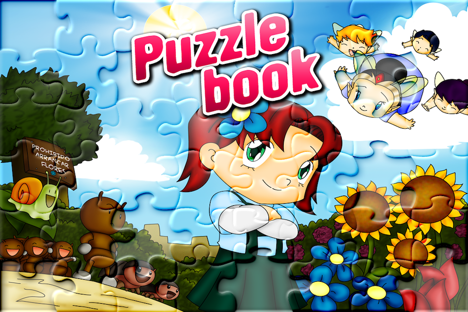 Screenshot Florita Puzzle Book: Canta y Juega